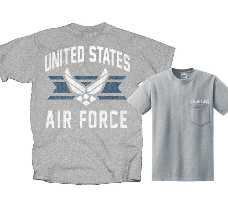 1b2e189b AIR FORCE VINTAGE EMBLEM | Joe Blow Tees
